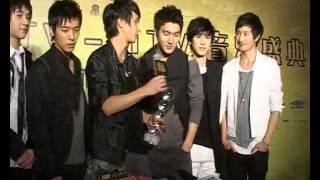 Gambar cover 081116CCTV MTV音乐盛å...¸ SJM庚海源旭贤后台采访æŸ'