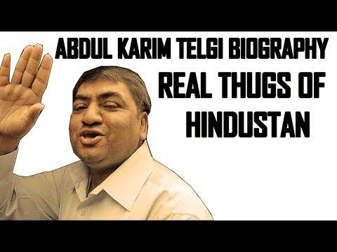 Abdul Karim Telgi Biography (Asli Thug of Hindustan)