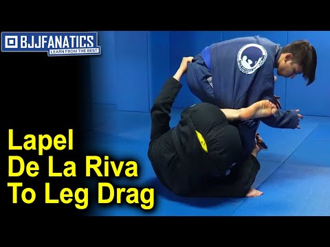 Lapel De La Riva To Leg Drag BJJ Move