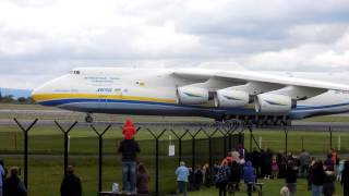 Antonov AN 225 Mriya @ Manchester airport UK June 2013