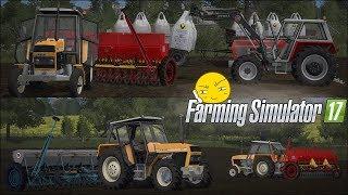 Siew pszenicy 2017 w PGR ☆ Let's Play Farming Simulator 17 ㋡ Bronczek & Kaskader