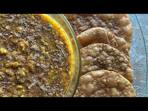 Vegetarian Recipes   Street Style Dal Pakwan   Lunch And Dinner Ideas   Easy And Quick Recipe