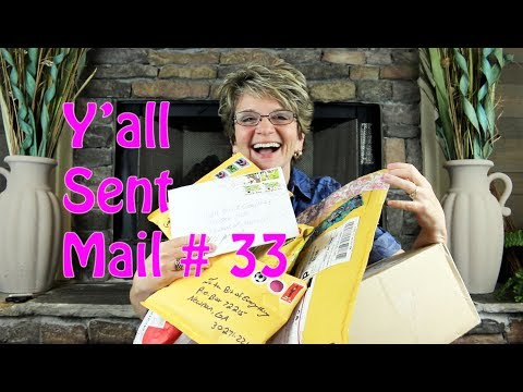 Y'ALL SENT MAIL #33 - THANKS TO ALEXANDRA, SEAN, ZOE & YENTHE, LAUREN, JACK, STEPHANIE AND JACKIE