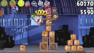 Angry  Birds Rio Part 1--Indonesian Gameplay