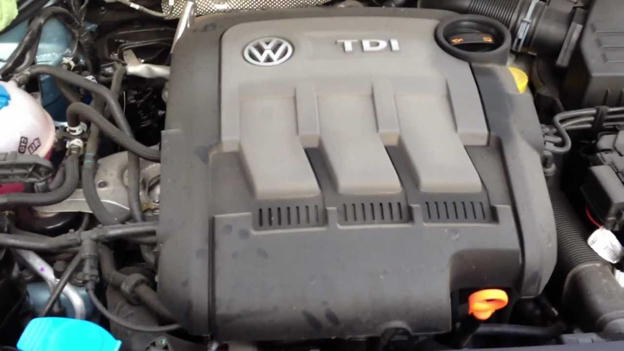 Volkswagen 1.2 Tdi CFWA engine - YouTube