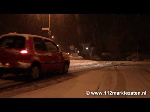 KNMI geeft code oranje voor sneeuwval in Noord-Brabant
