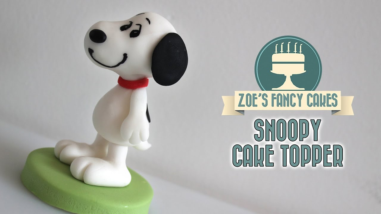 Snoopy cake model The Peanuts movie YouTube