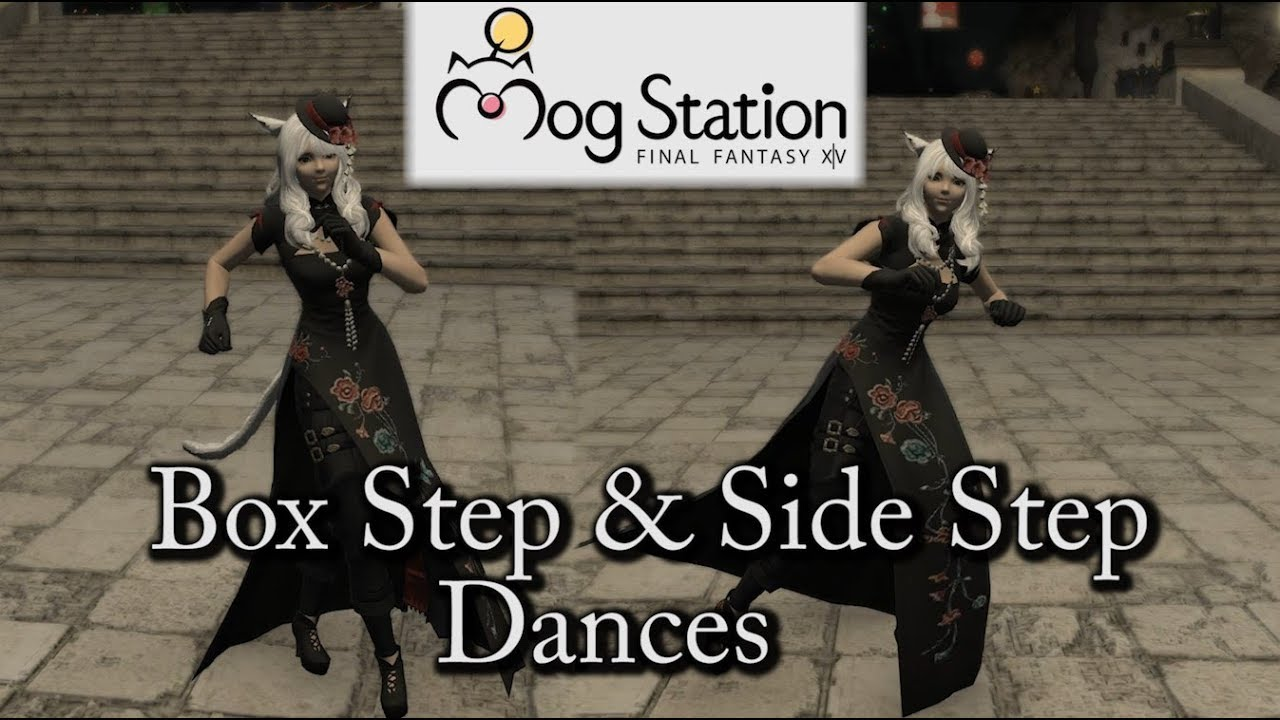 FFXIV: Box Step & Side Step Dance Emotes