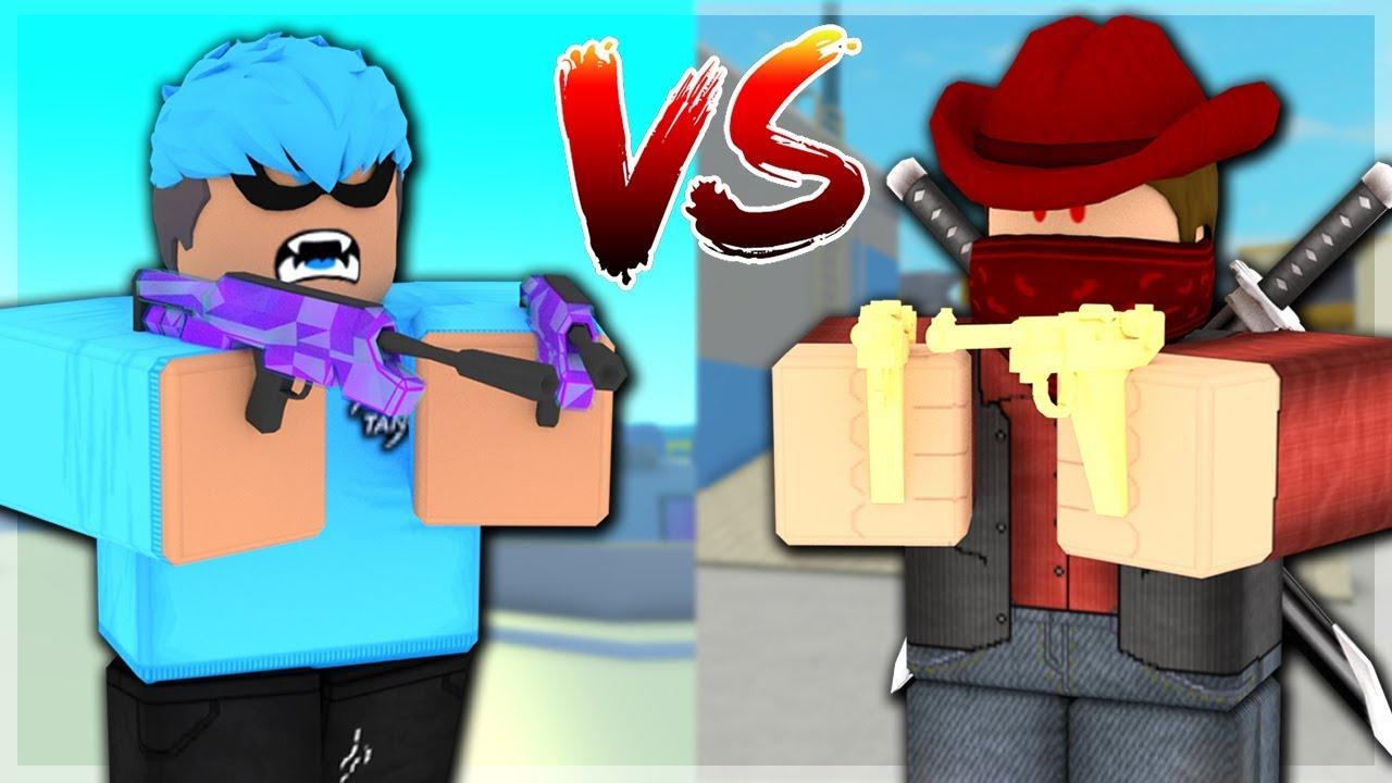 Tanqr Vs Bandites Roblox Youtube