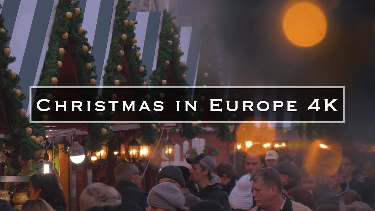 Christmas In Europe.Christmas In Europe 4k