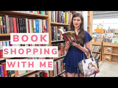 Come Book Shopping With Me! Used Book Store Vlog + Haul! Rare Finds, Classic Films, Vintage Editions