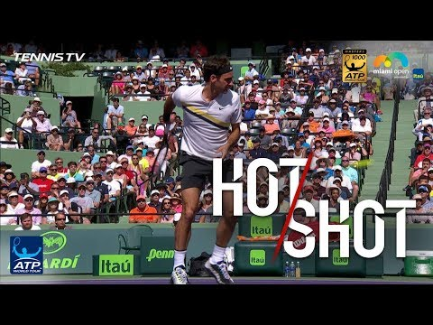 Hot Shot: Federer Produces Behind-The-Back Magic In Miami 2018