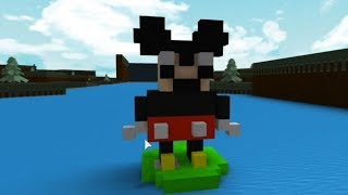 Mickey's 90th Anniversary In Roblox Build A Boat