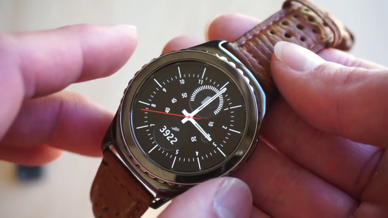 How To Change Watch Bands/Straps on Samsung Gear S2 Classic - YouTube