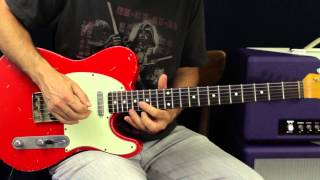 Hard Rock Licks - Blues Based Soloing On Guitar - Guitar Lesson - 80