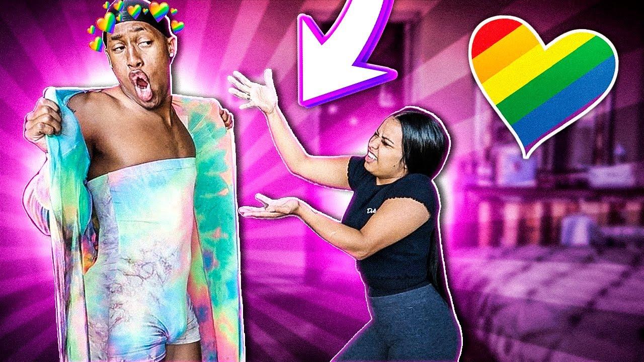 I'm GAY PRANK !