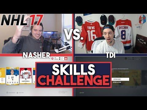 NHL 17 CRAZY SKILLS CHALLENGE w/ TDI