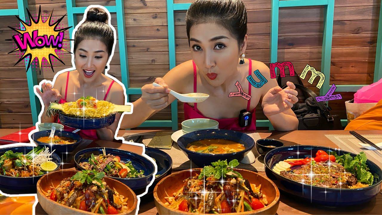 Quỳnh Lam dầm mưa la cà quán Thái và cái kết