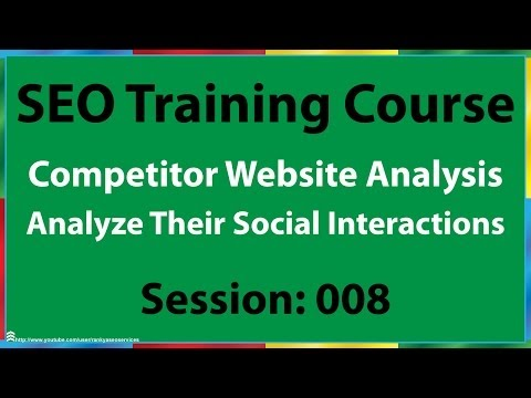 08 How to Analyze Competitor's Social Media for SEO