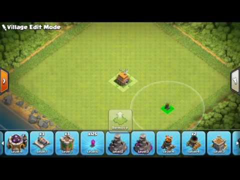 Clash of clans:Unbeatable townhall 6 base