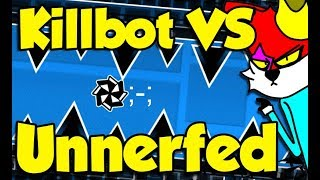 Geometry Dash - Killbot VS Unnerfed Killbot - Whats the difference?
