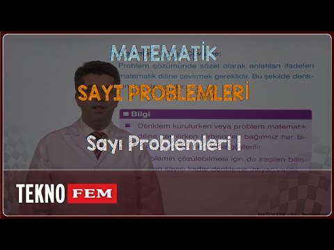 YGS-LYS MATEMATİK - Sayı Problemleri 1