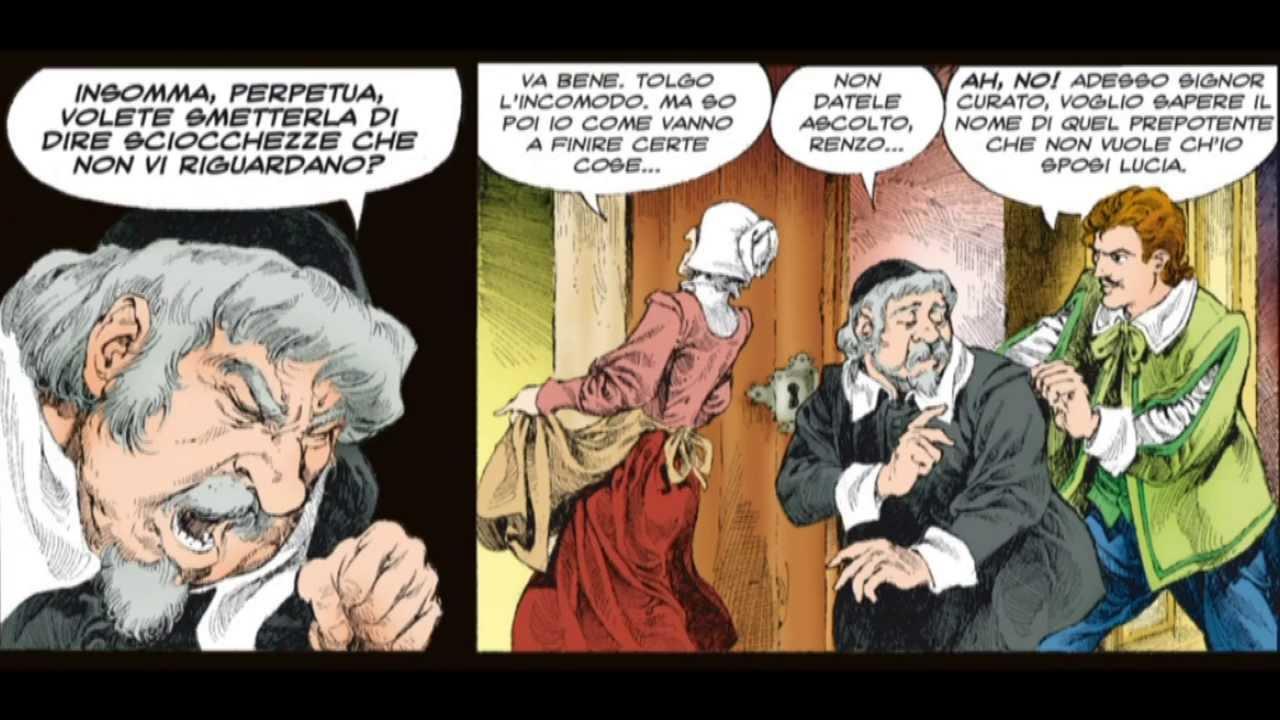 14 vignette Lecco I Promessi Sposi