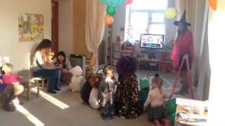 Хэллоуин!!! Или необычный урок англ  языка в детском саду Зёрнышко