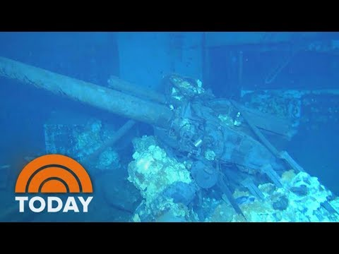 An Exclusive First Look Inside USS Indianapolis Wreckage Underwater | TODAY