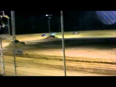 Hobby Stock Feature Race at Northwest Florida Speedway 6 14 2013