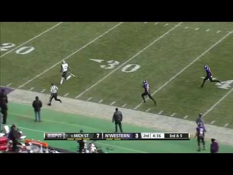 Cook Hits Fowler for the 87-Yard Score