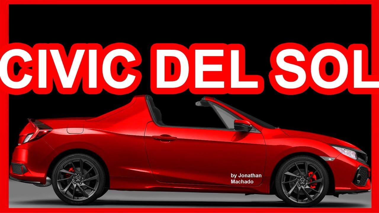 Photo New 2017 Honda Civic Si Del Sol
