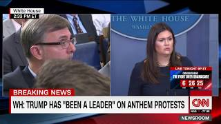 White House fires back at NFL protest backlash (entire briefing)
