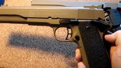 AMT Hardballer 7 inch long slide 1911 45 ACP with Cerakote & Custom Upgrades