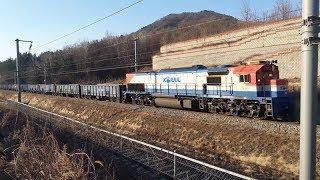 3482열차 가야의왕 화물 신암추풍령 간