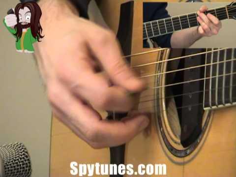 Angel Eyes Rhythm Guitar Lesson