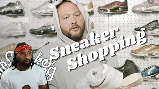 Action Bronson SPENDS BIG ON DAD WAVE SHOES WHEN SNEAKER SHOPPING WITH COMPLEX !