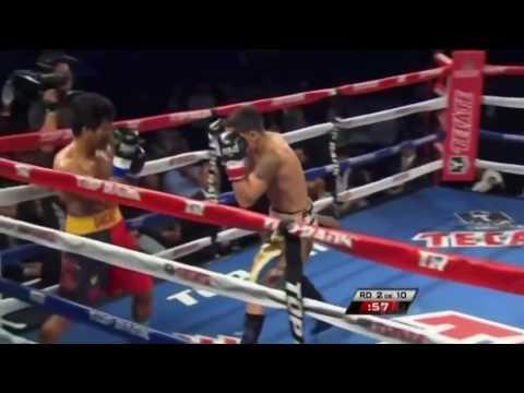 Oscar Valdez vs Ernie Sanchez |(TKO RD 3)