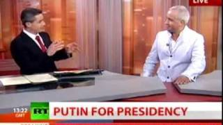 Dr. Igor Khokhlov comments on Election Campaing in Russia 2011 2012