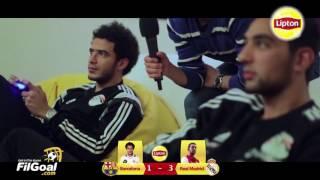 #ليبتون_في_الجابون – كلاسيكو FIFA 17: كوكا