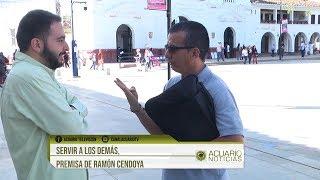 Servir a los demás, premisa de Ramón Cendoya