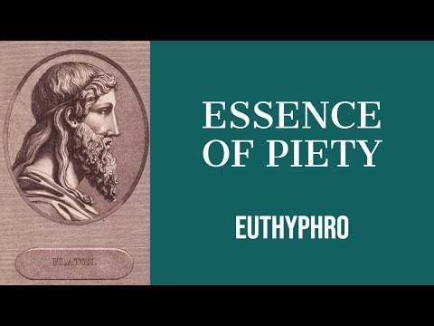 "the summary of euthyphro Plato's ""euthyphro"" i socrates and euthyphro meet at the porch of king archon euth what has happened, socrates, to make you leave your accustomed pastimes."