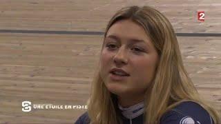 Mathilde Gros, une étoile en piste !