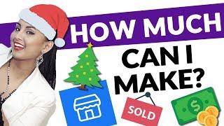 Make Money Selling on Facebook Marketplace // Christmas Challenge Episode 1 💰🎄