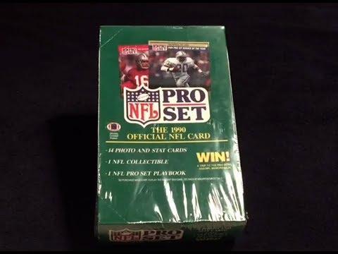 1990 Pro Set NFL Football Part 2