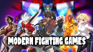Rambling About The Stąte Of Modern Fighting Games