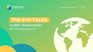 The EYP Talks | Decarbonising a Developed Economy - Judith Wallenstein