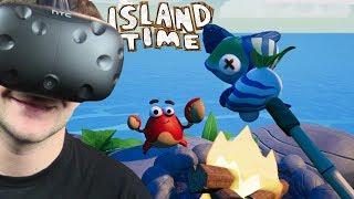 WRACAMY NA BEZLUDNĄ WYSPĘ - Island Time VR (HTC VIVE VR)