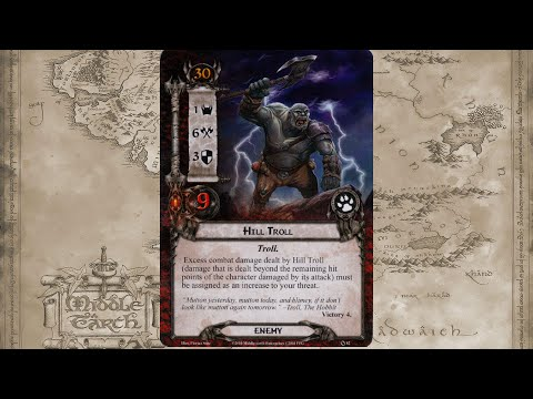 LotR LCG - Tutorial - Journey Along the Anduin (2 players)