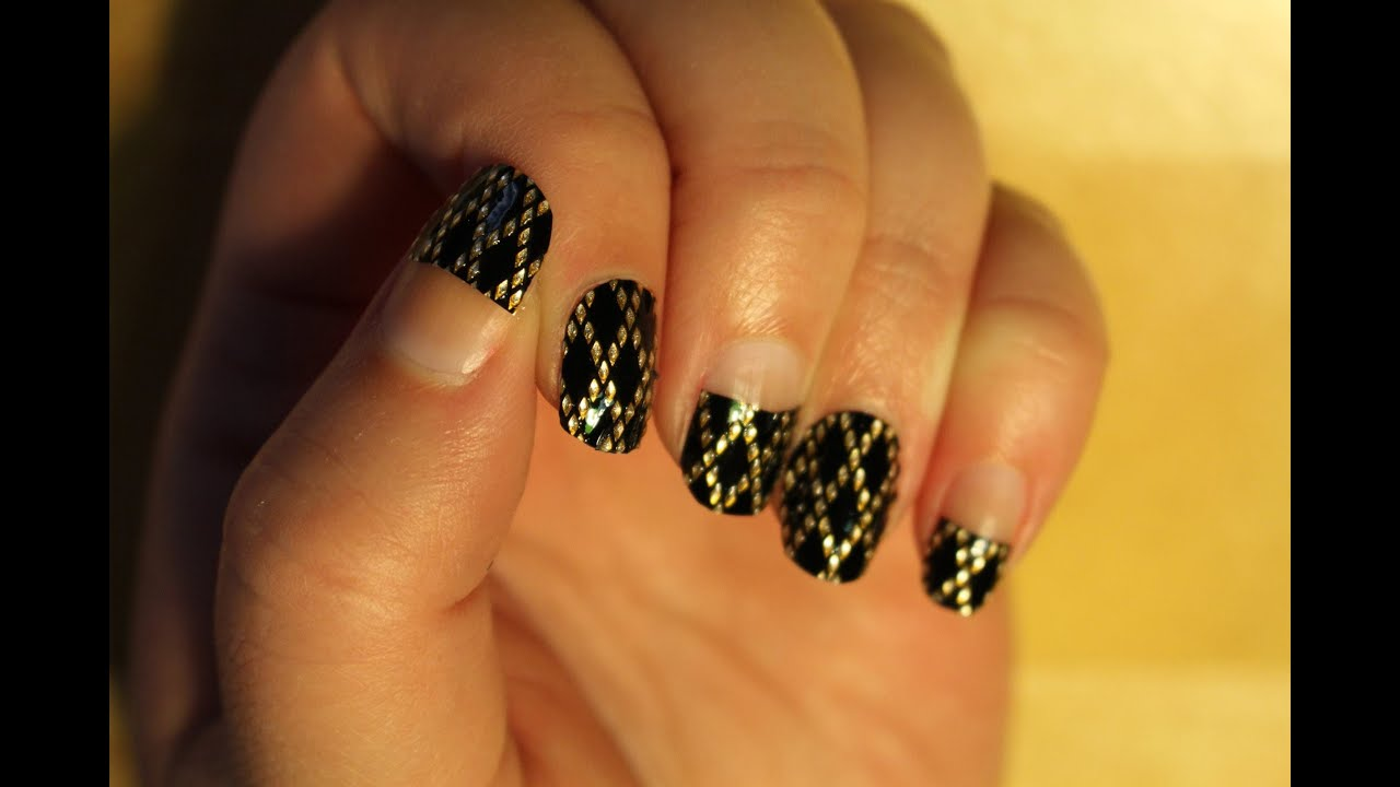 Using Sassy + Chic Nail Stickers on Long Nails! - YouTube